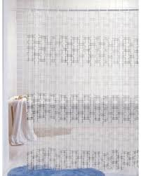 Vinyl Shower Curtains Amazing Deal On J M Home Fashions Printed Vinyl Shower Curtain