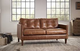 Small Leather Chesterfield Sofa Great Small Leather Sofa Cromer Small Leather Sofa The Small