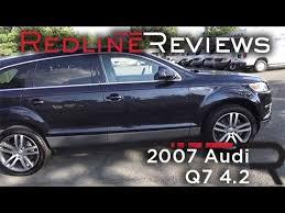 2007 audi q7 reviews 2007 audi q7 4 2 review walkaround exhaust test drive