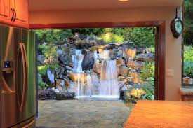 exterior design outstanding backyard waterfall pictures for