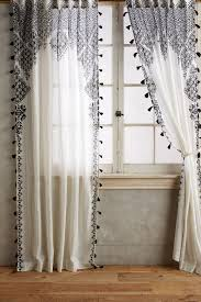 Silver And Blue Curtains Curtains U0026 Drapes Anthropologie