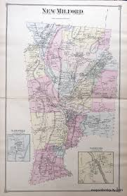 Milford Ohio Map by New Milford Connecticut Sold Antique Maps And Charts