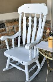 White Wooden Rocking Chair For Nursery I This Rocking Chair Hmmm Maybe I Should Paint It White