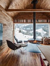 Modern Cabin Interior | шале на севере италии log cabins cabin and porch