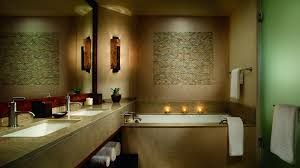 canyon view room in tucson arizona the ritz carlton dove mountain beautifully lit guest room bath area with separate shower and soaking tub
