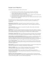 Examples Of Banking Resumes Fast Online Help Resume Objective Examples Career For Banking