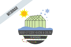 energy efficient heating and cooling for greenhouses upstart u