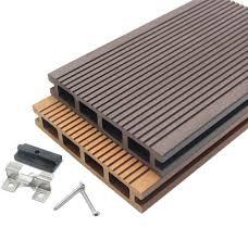 wood plastic composite decking building materials