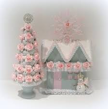 Shabby Chic Christmas Tree by 149 Best Shabby Chic Pink Christmas Images On Pinterest Shabby