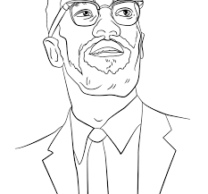 malcolm coloring pages coloring