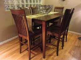 high top tables for sale for sale solid wood high top dining room table and chairs set that