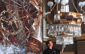 Chandelier Restoration Acu Bright Chandelier Cleaning And Restoration Restoration Services