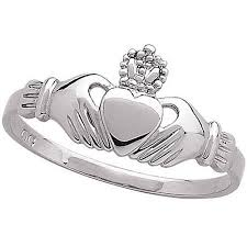 clatter ring claddagh ring in sterling silver walmart