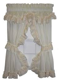 Priscilla Curtains With Attached Valance Interesting Priscilla Curtains With Attached Valance And Curtain