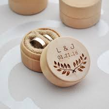 wedding rings in box custom ring box personalized wedding valentines engagement