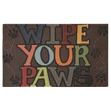 Wipe Your Paws Dog Doormat Mohawk Wipe Your Paws Doormat 18