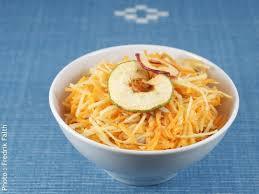 cuisiner rutabaga salade au rutabaga cru parfum d orange ecolopop