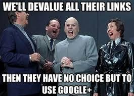 Google Plus Meme - google plus seo meme spider link directory