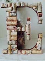 wine cork letter e wine lover giftcork letter ewedding
