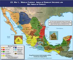 political map of mexico mexico political government cartel changes with increasing