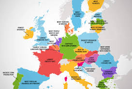 Map Of The Europe by What Every Country In The European Union Is Best At Country
