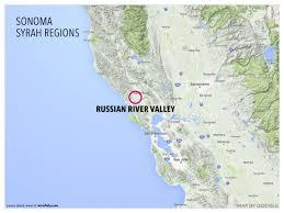 Cambria Ca Map Treasure Map Of West Coast Syrah Wine Folly