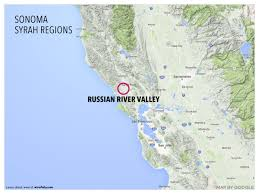 Sonoma California Map Russian River Valley Map California Popular River 2017