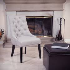 white leather dining room chairs for something spesial white leather tufted dining room chair