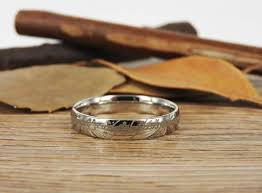 lord of the rings wedding band handmade dome shape custom your words in elvish tengwar lord of