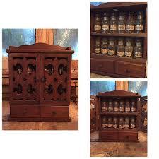 Vintage Wooden Spice Rack The 25 Best Wooden Spice Rack Ideas On Pinterest Spice Racks