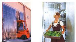 Walk In Cooler Curtains Strip Doors Industrial Doors Air Curtains And Commercial Doors