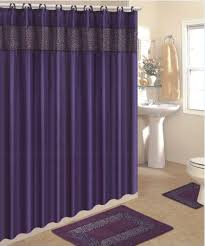 amazon com 4 piece bath rug set 3 piece purple leopard bathroom