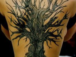 tree back peice ink badass tattoos and tatting