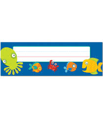 seaside splash nameplates grade pk 5 carson dellosa publishing