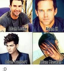 Adam Levine Meme - adam levine adam lambert adam adam masalah d adam levine meme on me me