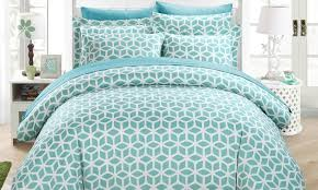 Geometric Duvet Cover Chic Home Geometric Duvet Set Groupon Goods