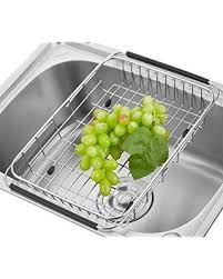 over the sink dish drying rack big deal on adjustable over the sink dish drainer dish drying rack