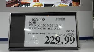 black friday bose speakers bose soundlink mobile ii bluetooth speaker costco weekender