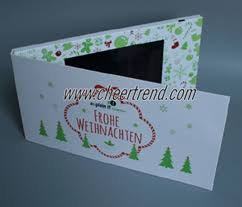 video brochure video greeting card product cheertrend