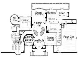 Castle Style Floor Plans by House Small Castle House Plans