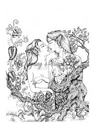 fantasy free coloring pages on art coloring pages