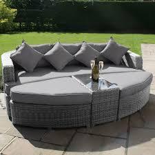 Tropicana Outdoor Furniture by Backyard Outdoor Furniture Daybed Maze Rattan Toronto Garden Grey