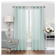 Eclipse Thermalayer Curtains by Liberty Light Filtering Sheer Curtain Blue 52