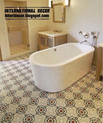 patterned tile bathroom interior design 2014 floor tiles for bathroom top tips for choice