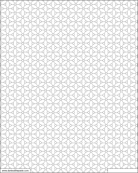 print and color this geometric tiled pattern with your own design