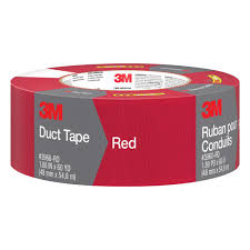 Duck Hold It For Rugs Tape 3m 1 88 In X 60 Yds Red Duct Tape Case Of 9 3960 Rd The Home