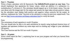 qt programming visual studio write the program in c visual studio with qt fr chegg com
