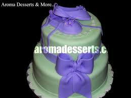 lilac u0026 pastel green baby shower cake cakecentral com