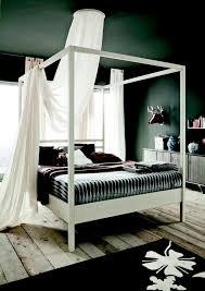letto baldacchino letto nemo di altacorte in legno a baldacchino