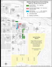 Eugene Map Concert And Event Parking And Transportation Matthew Knight